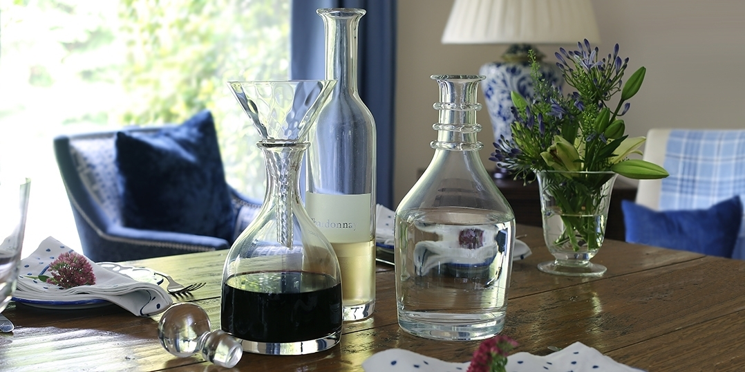 Carafes & Decanters - Labelled