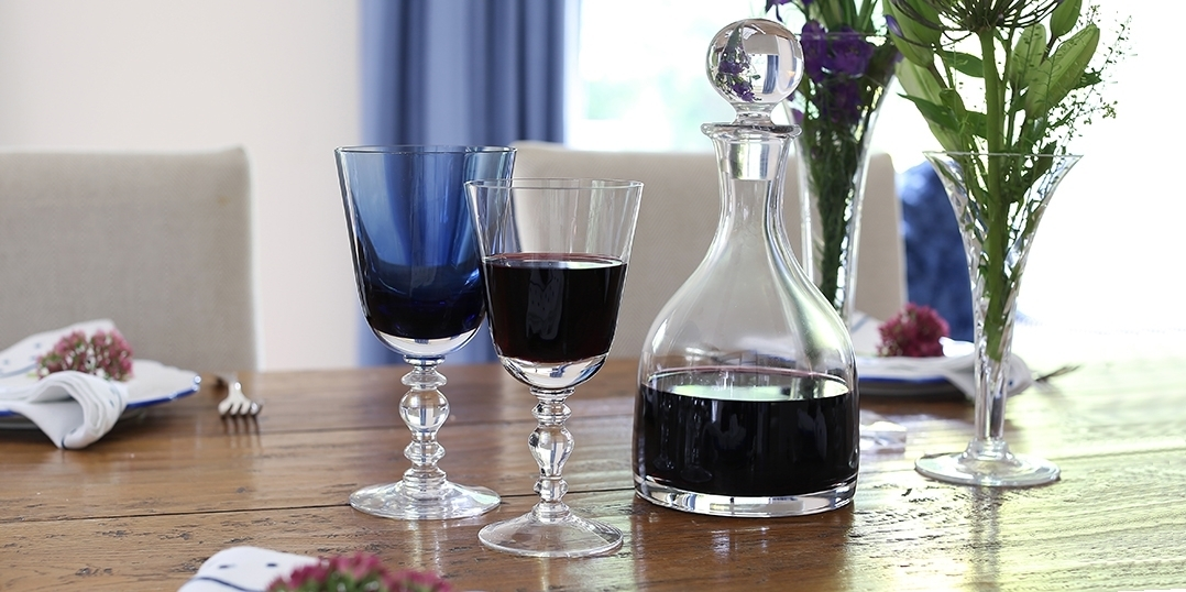 Wine Glasses - Wisteria