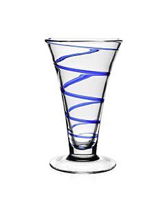 "Bella Blue Vase 9"" / 23cm"