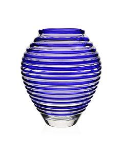 "Circe Vase Blue 11"" / 28cm"
