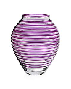 "Circe Vase Amethyst 16"" / 40.5cm"