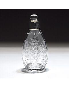 Fern Bottle Silver Collar