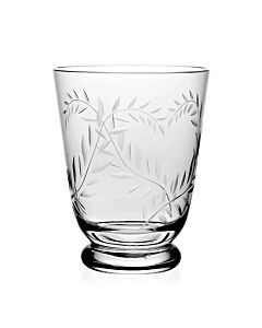 Jasmine Footed Old Fashioned Tumbler