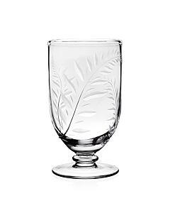 "Jasmine Footed Flower Vase 7"" / 18cm"