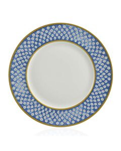 Leckford Dinner Plate Blue