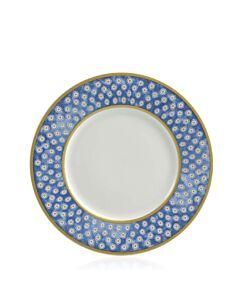 Leckford Dessert Plate Blue