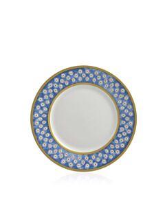 Leckford Side Plate Blue