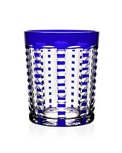 Lulu Sapphire Tumbler Double Old Fashioned
