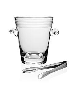 Madison Ice Bucket with Tongs
