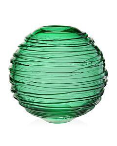 "Miranda Globe Vase 9"" Seaglass Green"