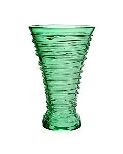 "Miranda Vase 14"" Seaglass Green"