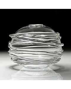 "Sophie Vase 9"" Clear"