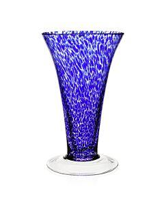 """Vanessa Vase Sicilian Blue 11"""" / 28cm"""