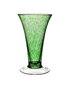 "Vanessa Vase Forest Green 11"" / 28cm"