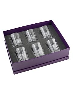 Vesper Gift Box of 6 Whisky Tumblers